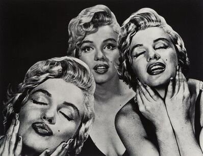 Philippe Halsman, 'Marilyn Flirting', 1952