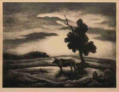 Thomas Hart Benton, 'Sunset', 1941
