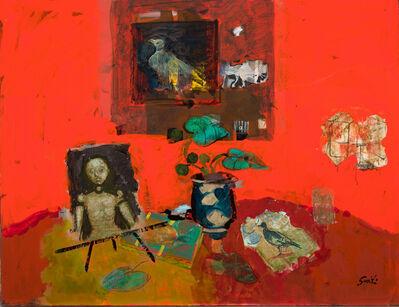 Gilles Gorriti, 'Composition rouge', ca. 2008