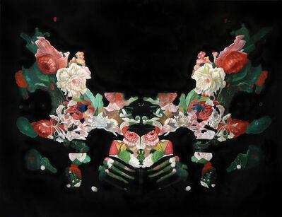 """Ciler, '""""Rorschach Flower Test 1""""', ca. 2017"""