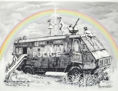Banksy, 'Police Riot Van (Dismaland Gift Print)', ca. 2015