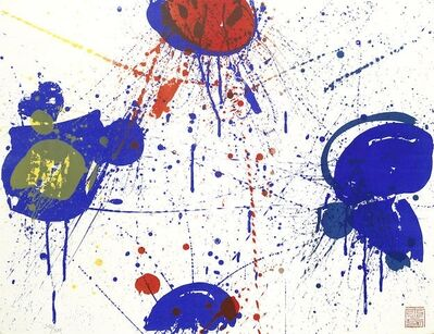 Sam Francis, 'The Upper Red (Lembark 51)', 1963