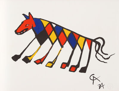 Alexander Calder, 'Flying Colors 3', 1974