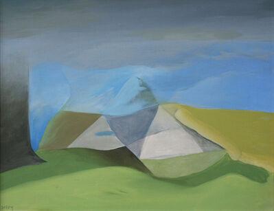 Toni Onley, 'Pyramid Valley', 1965