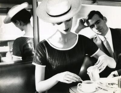 Lillian Bassman, 'Carmen Having Tea, 1950', 1950