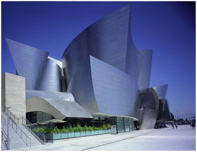 Julius Shulman, '3 PRINT COMPLETE DISNEY CONCERT HALL COLLECTION SIGNED BY JULIUS SHULMAN: Disney Concert Hall, Julius Shulman / Juergen Nogai. Frank Gehry Architect. Los Angeles, California.', 2003