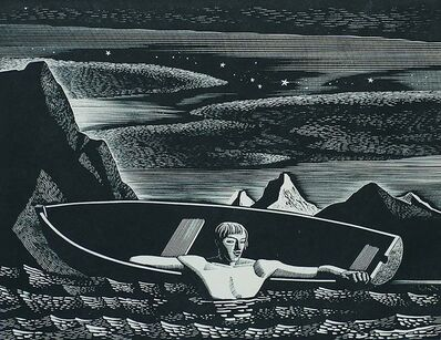 Rockwell Kent, 'Deep Water', 1931