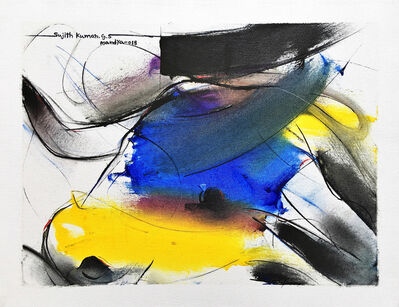 Sujth Kumar G.S. Mandya, 'Bull Painting - 684', 2013