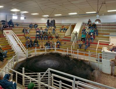 Andrew Moore, 'Bassett Livestock Auction, Rock County, Nebraska', 2006