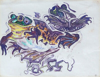 Walter Anderson, 'Frogs', ca. 1950
