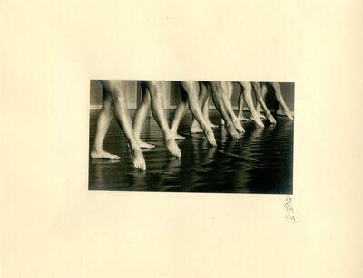 Ilse Bing, 'Ballet School, Frankfurt', 1929
