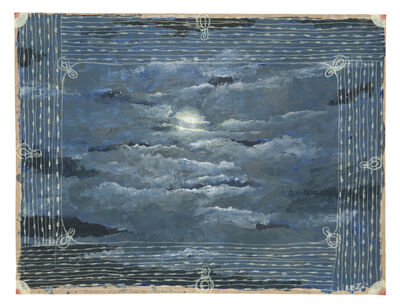 Robert Zakanitch, 'The Moon Glinted Over the Clouds', 2015