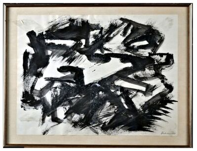 Anthony Padovano, 'Untitled Abstract Expressionist drawing', 1971