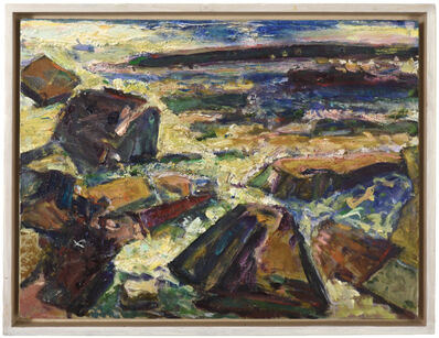 Bernard Chaet, 'Rocks at Four', 2004