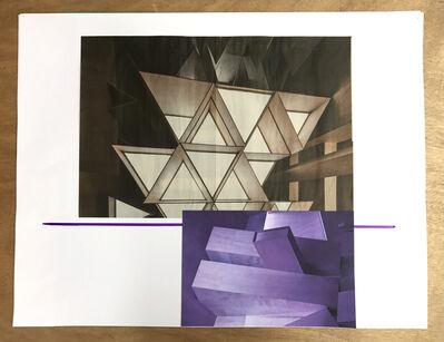 Xavier Veilhan, 'Collage n°13', 2018