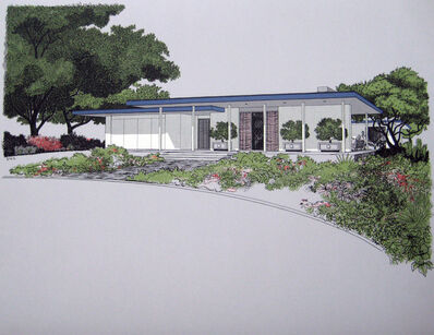 Carlos Diniz, 'Monarch Bay Homes, Regency Modern Style (Ladd and Kelsey, Architects)', 1961