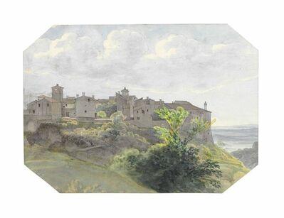Johann Martin von Rohden, 'A Roman hill town'