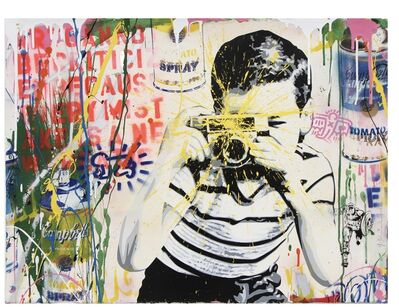 Mr. Brainwash, 'Camera Boy', 2019