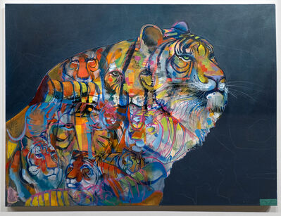 Denis Korkh, 'Infinite Tiger', 2018