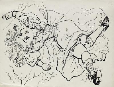 George Grosz, 'The Silk Doll', 1937