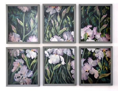 Evelyne Ballestra, 'Iris Mosaic', 1991
