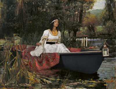 E2 - KLEINVELD & JULIEN, 'Ode to Waterhouse's The Lady of Shalott', 2017