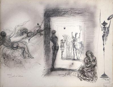 Salvador Dalí, 'Don Chisciotte, Evocazione di Dulcinea... rinunzio ai miei diritti di gentiluomo', 1964