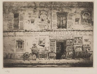 Samuel Chamberlain, 'The Curiosity Shop, Rue Campagne Première, Paris', 1925