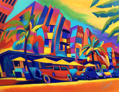Ken Beberman, 'MOTION DRIVE (MIAMI BEACH)', 2019