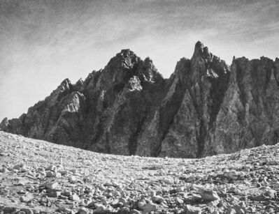 Ansel Adams, 'Bishop Pass and the Inconsolable Range', 1939