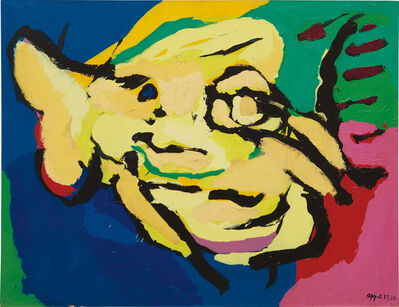 Karel Appel, 'Flying Yellow Head', 1970