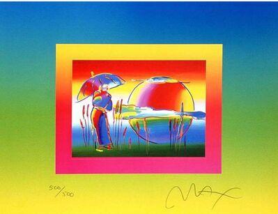 Peter Max, 'Rainbow Umbrella Man on Blends', 2005
