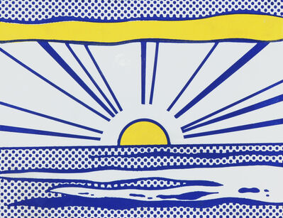 Roy Lichtenstein, 'Sunrise ', 1966
