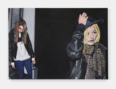 Merlin Carpenter, 'Art Prep: Draw Cara Delevingne and Kate Moss', 2019