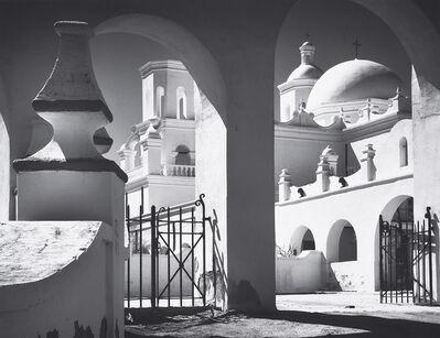 Ansel Adams, 'Arches, North Court, Mission San Xavier del Bac, Tucson, Arizona', 1968