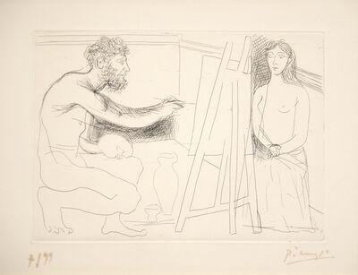 Pablo Picasso, 'Peintre Devant Son Chevalet', 1927