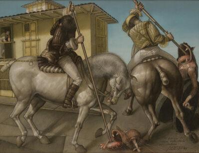 David Manzur, 'Los Guerreros de Neira', 1993