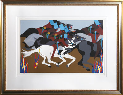 Jacob Lawrence, 'Toussant at Ennery from Toussaint L'Ouverture', 1989