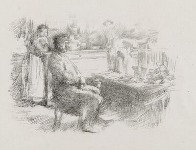 James Abbott McNeill Whistler, 'The Shoemaker', 1896
