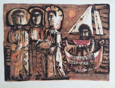 Antoni Clavé, 'The Saintes-Maries ', 1951