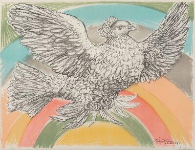 Pablo Picasso, 'Le colombe volant (à l'Arc-en-ciel)', 1952