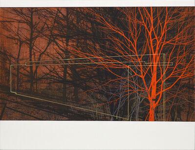 Andrew Mackenzie, 'Flood Wall 2 (orange)', 2018