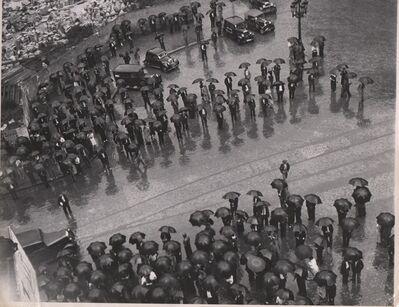 Kati Horna, 'Mitin de la CTN en Barcelona', 1937