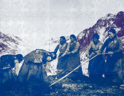 Tenzing Rigdol, 'Tibetan road builders', 2018