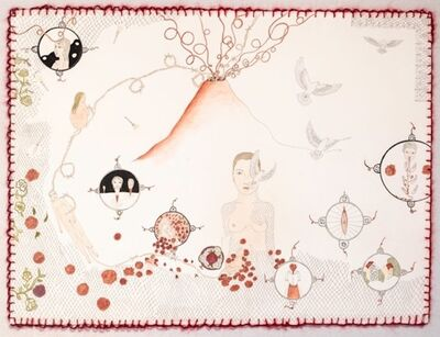 Sascha Mallon, 'Umbilical Cord Volcano ', 2018