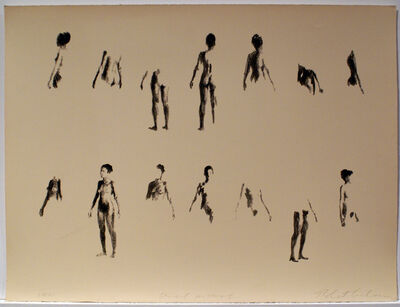 Robert Graham, 'Untitled (Figures on Beige Ground, Medium)', 1971