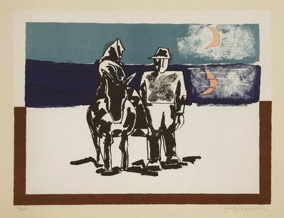 Josef Herman RA, 'On The Way Home', 1974/5
