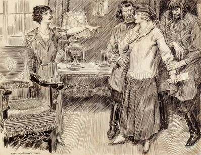 James Montgomery Flagg, 'The Big Accusation'