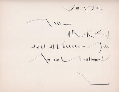 Mirtha Dermisache, 'Sin título. Carta', 1970