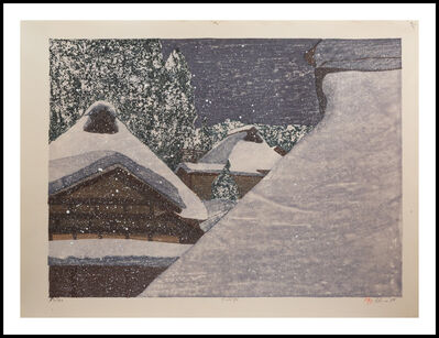 Joshua Rome, 'Snowy Night', 1986